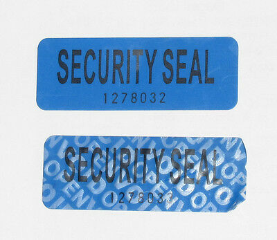 100  Tamper Proof Security Seal Labels (VOID OPEN) Stickers 5.5*2  cm  GENUINE .