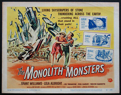 Monolith Monsters Reynold Brown Art Sci-Fi 1957 Title Card