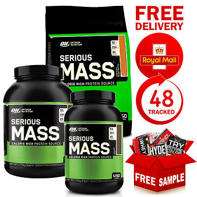 Optimum Nutrition ON Serious Mass 5.4kg / 12lbs Weight Gainer Protein