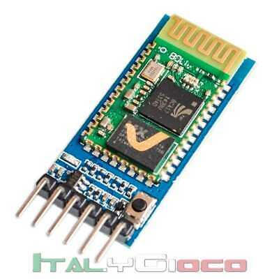 Modulo Bluetooth HC-05 Pulsante transceiver Master Slave RS232 switch - Arduino