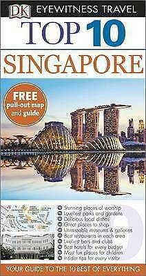 DK Eyewitness Top 10 Travel Guide: Singapore, , New Book