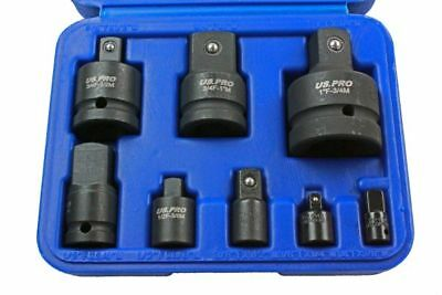 8pc Impact Socket Adaptor Set / Kit Converter Reducer Adapters US PRO 1488