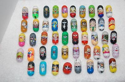 Lot Of 48  Assorted Mighty Beanz  - Gently Played With - Good Condition