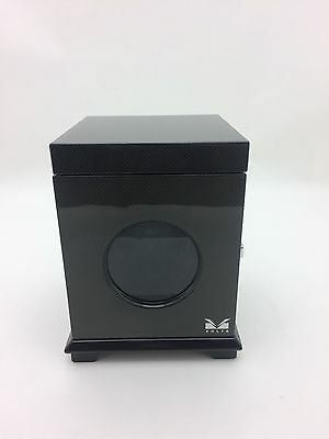Single Automatic Watch Winder with Storage, Black by Volta