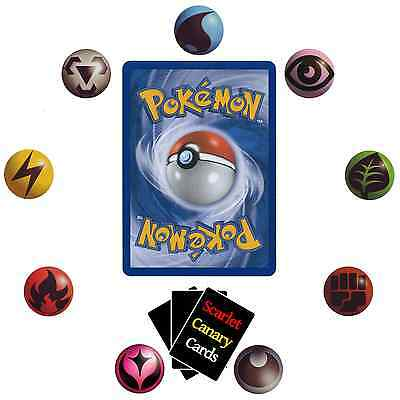 Assorted Pokemon card bundles. Pick the size you want, from 10 to 100 cards.