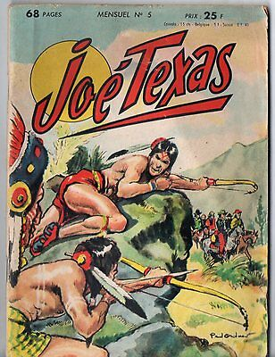 ¤ JOE TEXAS n°5 ¤ 1958 DEL DUCA ¤ PAUL ORDNER