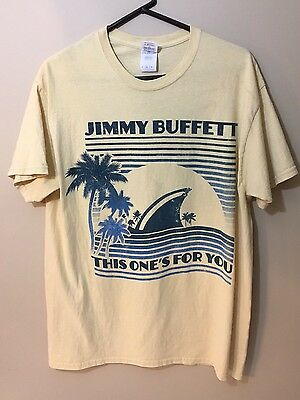 2014 Jimmy Buffett This One's for You Concert Tour T-Shirt Size Adult L (7)