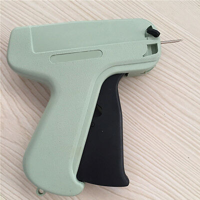 Manual Clothes Garment Price Label Tagging Tag Gun Plastic + 1x box Needles