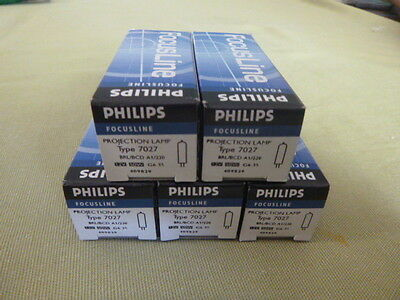 Philips 12V 50W A1/220 Lamp X 5 *****reduced*****