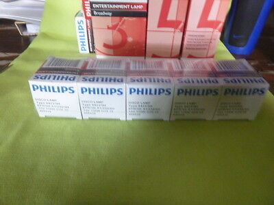 Philips 6423/5H 150W GZ6.35 15V AC Lamp for DJ/Club Lighting x 5 ****REDUCED****
