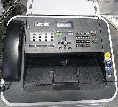 Brother FAX-2840 IntelliFAX High-Speed Laser Fax Machine USED