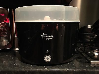 tommee tippee electric steriliser black