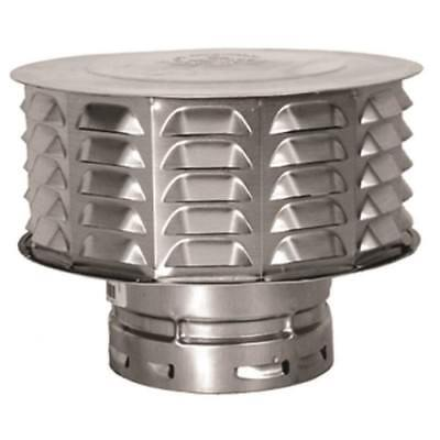 Cap Gas Vent 4in Double Wall