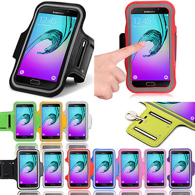 On 7 Fancy Sports Armband Samsung Galaxy Exercise Gym Running Jogging Pouch Case