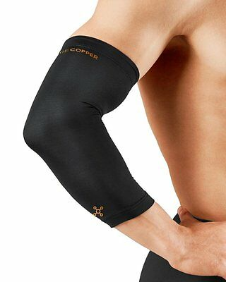 NEW Tommie Copper Compression Elbow Sleeve Size S/Black