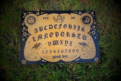 WITCHBOARD Devil LRG Satanic Ouija Board Occult Evil Spirit  Haunted House ghost