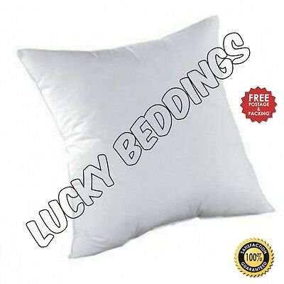 """New Duck Feather Cushion Pads Inners Inserts Fillers Scatters 16"""" 18"""" 20"""" 22"""" 24"""