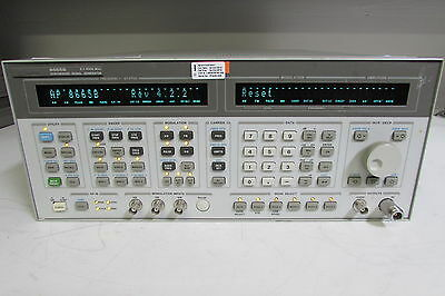 Agilent 8665B High-Performance Signal Generator, 100 KHz - 6 GHz, opt 001, 004