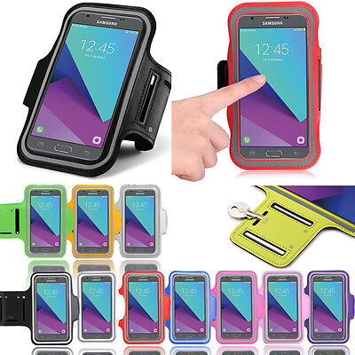 Sports Armband Gym Running Jogging Exercise Case For Samsung Galaxy J5 Prime