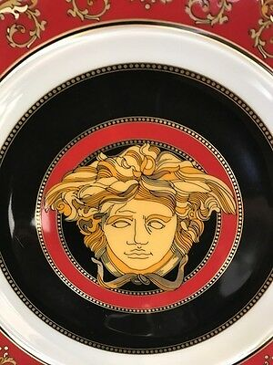 Versace Medusa Red 18Cm  Plate  Porcelian Rosenthal New In Box
