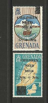 Grenada ~ 1968 Children Need Milk (O/p) Part Set