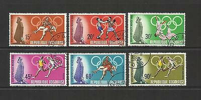 Togo ~ 1968 Olympic Games Mexico (Cto Set)