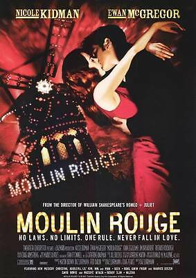 MOULIN ROUGE MOVIE Art Silk Poster