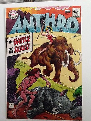 Anthro #1 (Jul-Aug 1968, DC) FN