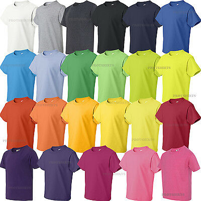 Fruit of the Loom - HD 100% Cotton Kids Youth Short Sleeve T-Shirt - 3930BR