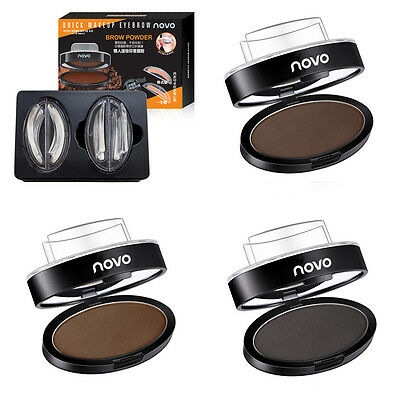 Quick Lazy Beauty Eye Brow Enhancer Eyebrow Powder Seal Makeup Stamp Cosmetic
