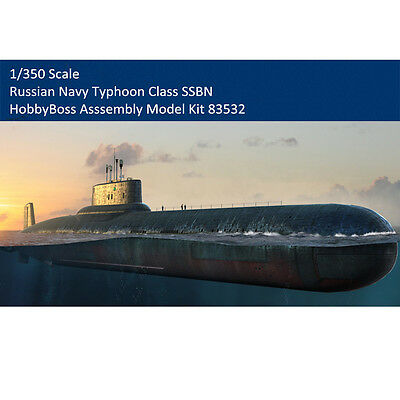 HobbyBoss 83532 1/350 Scale Russian Navy Typhoon Class SSBN Assembly Model Kits