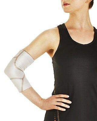 NEW Tommie Copper Women's Performance Boost Elbow Sleeve Size M/White