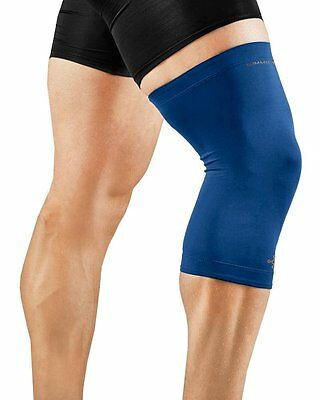 NEW Tommie Copper Men's Recovery Refresh Knee Sleeve Size LARGE/Cobalt Blue