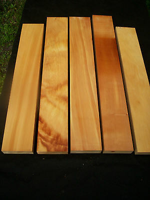 Pack of 5 x HUON PINE Craft boards