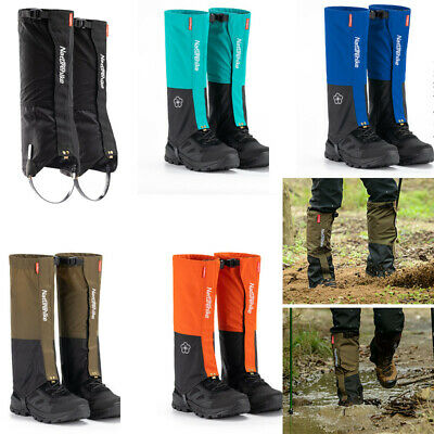 Hiking Climbing Walking Waterproof Boot Leggings Trekking Snow Gators Gaiters