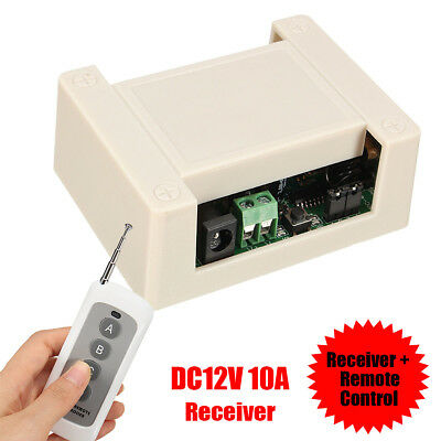 DC 12V Motor Switch Receiver w/ Remote Control For Electric DC Linear Actuator