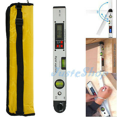 0~225° Digital Inclinometer Protractor LCD Spirit Level Angle Finder Gauge Meter