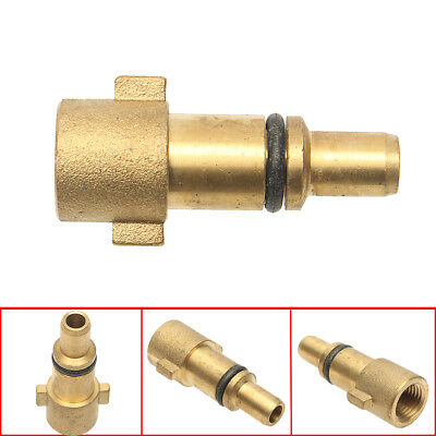 1/4'' Male Pressure Washer Snow Foam Lance Adapter Bayonet Connector For NILFISK