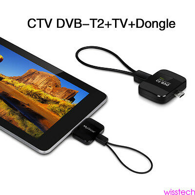 DVB-T ISDB-T Micro USB Tuner Mobile TV Receiver Stick Android Tablet Pad Phone G