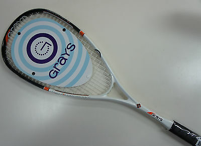 GRAYS High Quality Full Graphite Squash Racquet GSX 900 (160g only), Strung