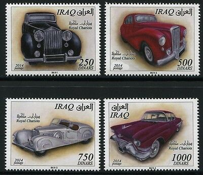 Irak Iraq 2015 Königliche Autos Royal Cars Oldtimer ** MNH