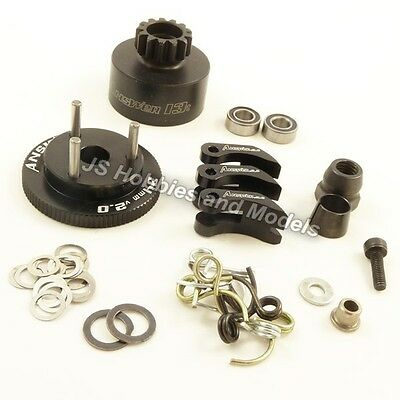 Answer-RC - Complete Clutch Set with 13t Bell ALLOY SHOES (Hyper/Kyosho/Traxxas)
