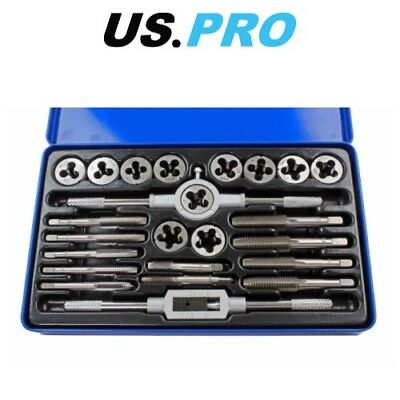 Bergen 24Pc Unc/unf Tap And Die Set B2546