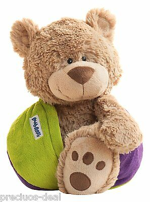 "Buddy Balls Eva Cuddly Bear 16"" Transformable Soft Ball With Secret Compartment"