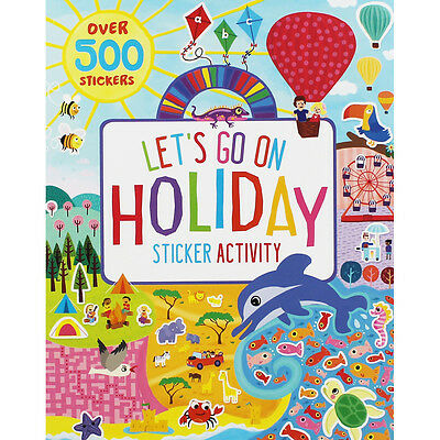 Lets Go On Holiday - Sticker Activity Book (Paperback), Children's Books, New