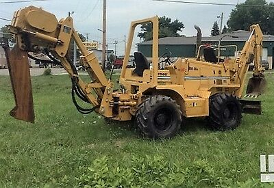 1999 Vermeer trencher 8550 4x4, 2,523 hrs, Cable Plow, 3.9L Turbo, Work Ready!