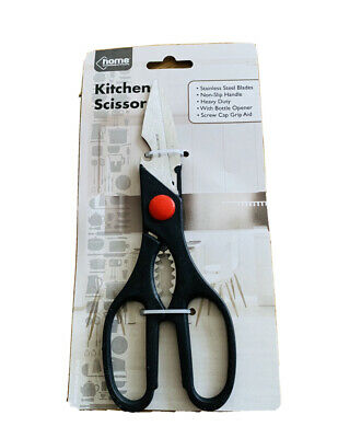 20cm Cooks Choice Heavy Duty Stainless Steel Blade Scissors & Bottle Opener