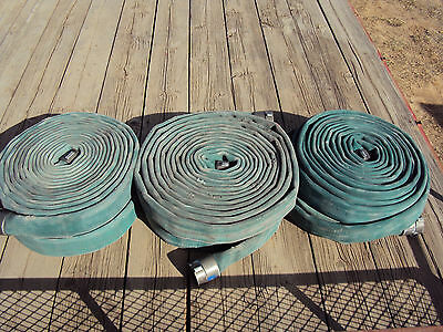 "4"" Surplus Firehose BOAT DOCK BUMPER RAILING MOORING hose 45' FEET Approximate"