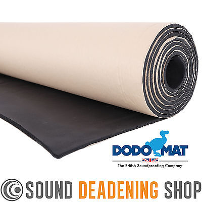 4m x 1m Roll Car Van Insulation Sound Proofing Liner 6mm Closed Cell Foam