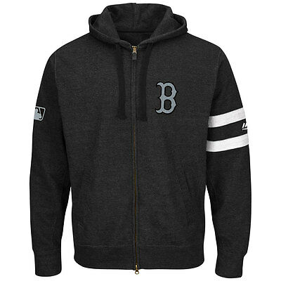 Boston Red Sox Clubhouse Full-Zip MLB Hooded Fleece